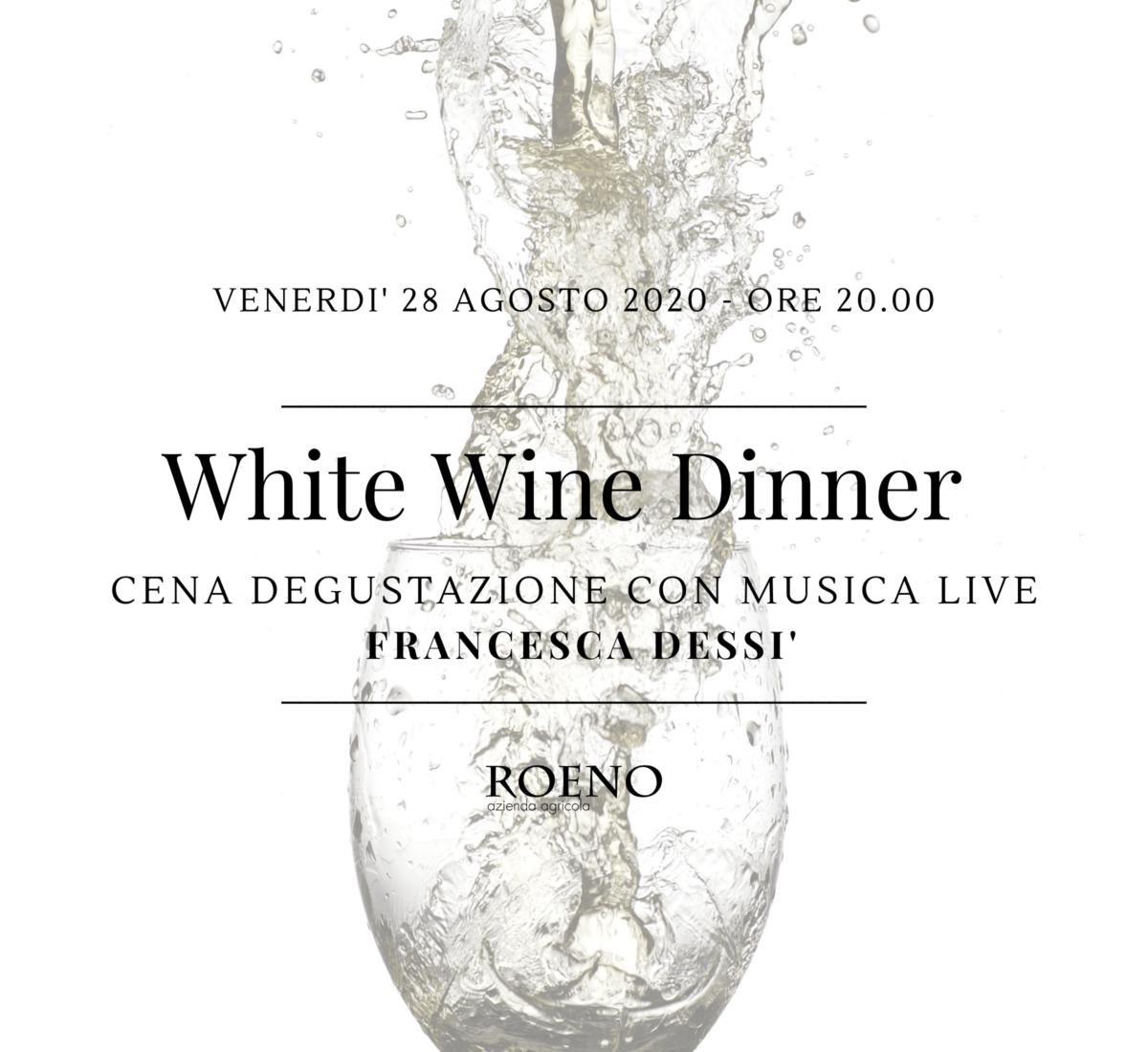 ✨ White Wine Dinner ✨
