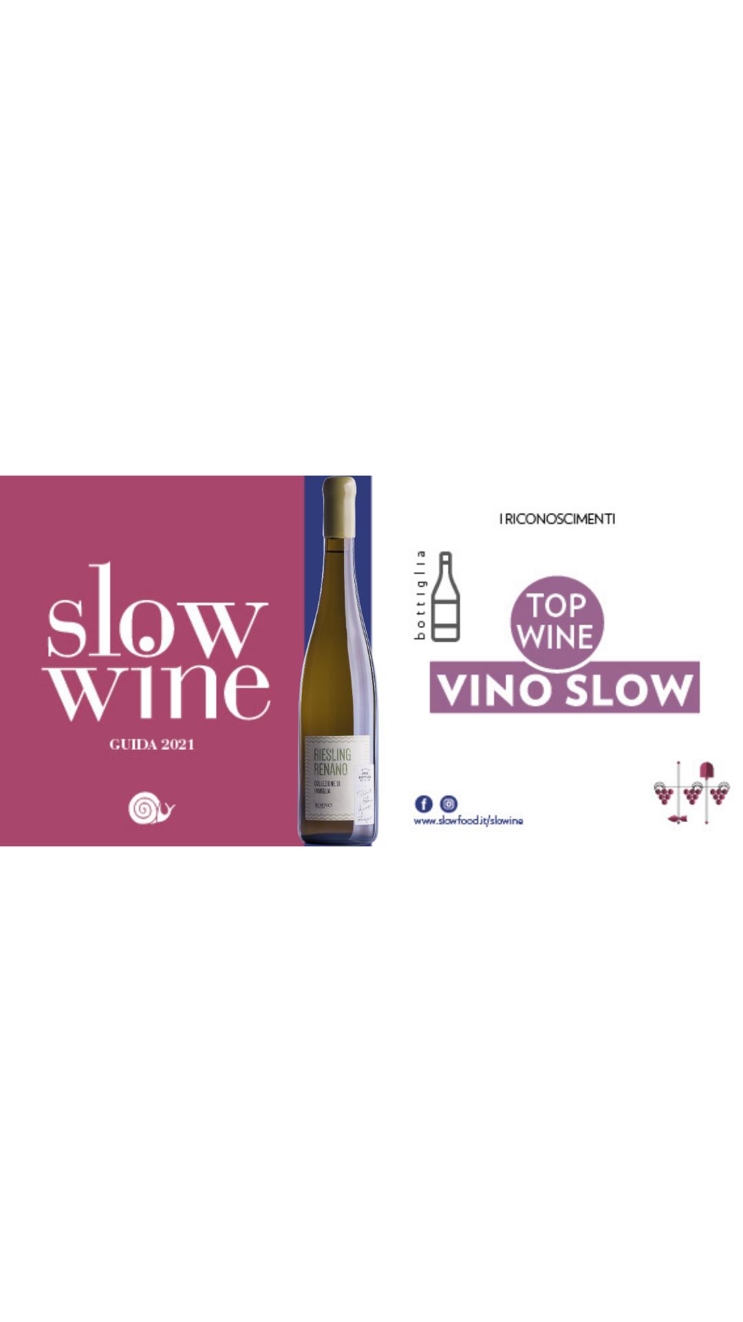 Riesling Renano Collezione di Famiglia 2016 – Top Wine & Vino Slow