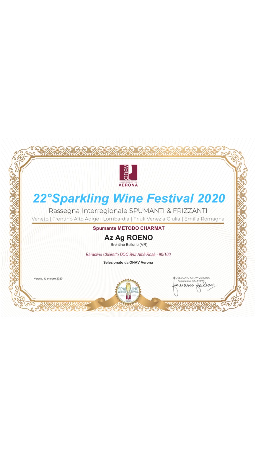 22° SPARKLING WINE FESTIVAL 2020