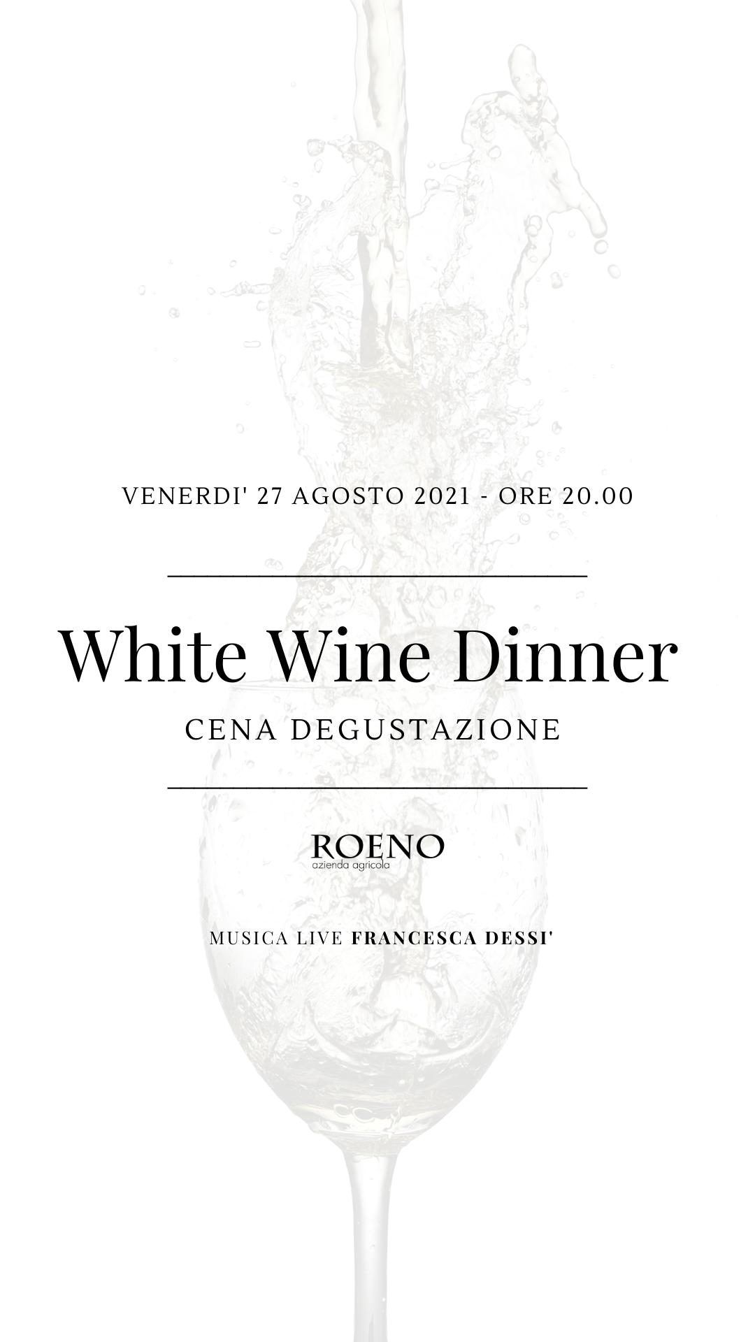 White Wine Dinner ✨